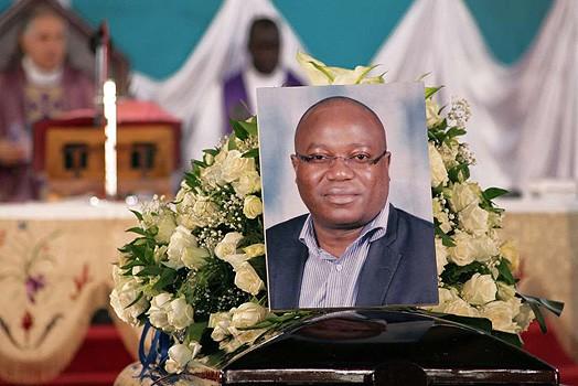 chris msando funeral